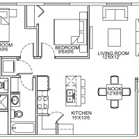 12 Plex Lower Floor Unit floor plan