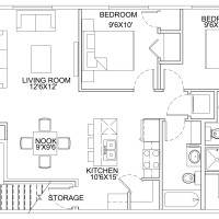 12 Plex Main Floor Unit floor plan