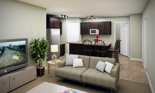 14 Plex Main Floor Corner