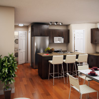 8 Plex Main Floor Unit