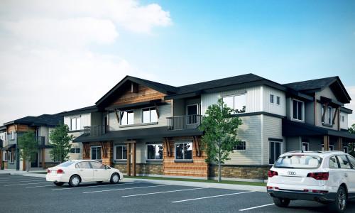 8 Plex building exterior